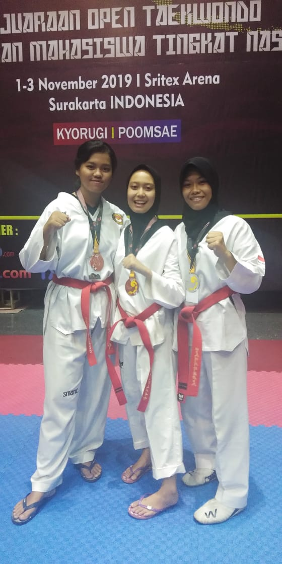 Juara III Open Taekwondo Tingkat Nasional di Surakarta November 2019